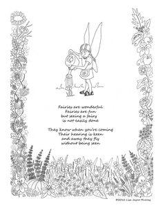 Fairies Dance in the Moonlight, Original Fairy Poem, DIY