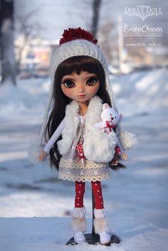 SOLD on layaway jprockish1.  Custom Pullip Winters Holly