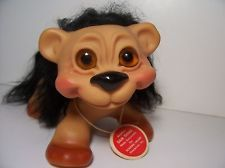 Vintage DAM THINGS LION - Dam Troll Doll - VERY RARE - Excellent