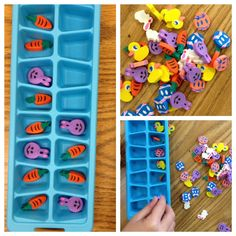 Apples and ABC's: March 2012- great idea for patterning!