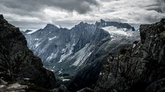 Trollveggen (The Troll Wall), Norway  [4240 × 2385] #nature and Science
