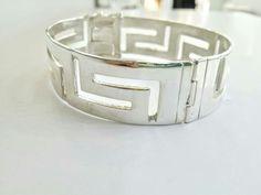 #Greekkey#widebracelet#silver925#thelittleshopAthens #meander#cuff #etsy #jewelry #bracelet #silver #geometric #men #boho #greekmeander http://etsy.me/2CAIVE7