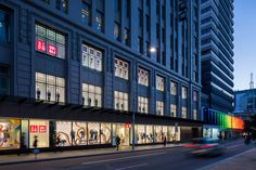 Uniqlo Melbourne - Red Design Group Red Design, Department Store, Uniqlo, Melbourne, Multi Story Building, Retail, Group, Home, House