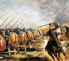 """#Herodotus wrote that the decisive #Battle of #Plataea in 479 BC was """"the most splendid victory of all those about which we have knowledge."""" Would it be fair to assume that this conflict has been overshadowed by the last stand at #Thermopylae ? ( #Artist : Andrew Howat)"""