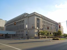 One of the court buildings along Central. (Cedric Suzuki)
