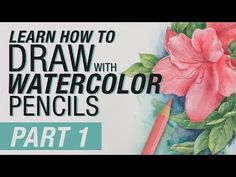 Steve Mitchell from the Mind of Watercolor is an experienced watercolor Artist. In this series of videos he shows the basics of using our Albrecht Durer Wate. Watercolor Pencils Techniques, Watercolor Pencil Art, Colored Pencil Techniques, Pencil Painting, Watercolour Tutorials, Watercolor Artists, Watercolour Painting, Watercolors, Painting Flowers