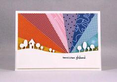 Anni-Karten: Regenbogen