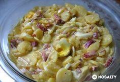 Veggie Recipes, Salad Recipes, Dinner Recipes, Cooking Recipes, Veggie Meals, Hungarian Cuisine, Hungarian Recipes, Cold Dishes, Kaja