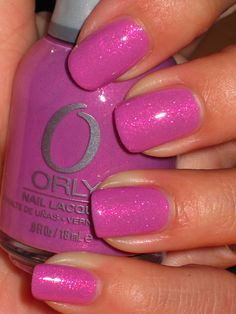Orly Preamp.  Pink, but purple.  I call that perfect!!!