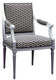 guest chairs. Gilles Nouailhac - Fauteuil Louis XVI Jacob > Renovation