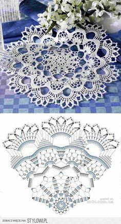 37 Ideas crochet lace diy beautiful for 2019 Crochet Doily Rug, Crochet Doily Diagram, Crochet Dollies, Crochet Tablecloth, Crochet Flower Patterns, Crochet Chart, Thread Crochet, Filet Crochet, Irish Crochet