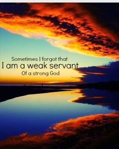 Sometimes I forget...