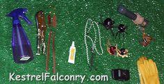 Kestrel Falconry Equipment
