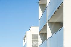 Quatuor - Veigy-Foncenex (74) © Gilles Bertrand Multi Story Building, Alps