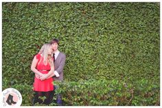 Ivy wall engagement / photo by Rubber Boots Photography (www.rubberbootsphotography.com)