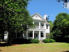 Hawthorne House at Pine Apple, AL (Antebellum - built in 1854. House was recorded by the Historic American Buildings Survey in 1937. It is listed on both the National Register of Historic Places & the Alabama Register of Landmarks and Heritage.) --- For additional details, go to www.ruralswalabama.org/attractions/the-hawthorne-home-at-pine-apple-al-built-1852/.