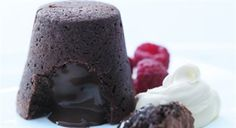 Try this Cheat's Chocolate Fondant recipe by Chef Donna Hay. This recipe is from the show Donna Hay – Fast, Fresh, Simple.