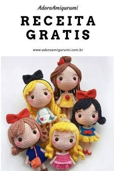Crochet Doll Pattern, Crochet Patterns Amigurumi, Baby Knitting Patterns, Amigurumi Doll, Crochet Dolls, Doll Patterns, Kawaii Crochet, Crochet Baby, Soft Toys Making