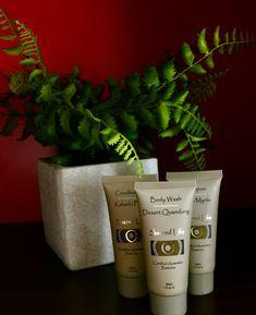 New range of botanicals for bathroom pampering at The Ridge, Gloucester, NSW Gloucester Nsw, Barrington Tops, Eco Cabin, Myrtle, Acre, Planter Pots, Bathroom, Washroom, Mornings