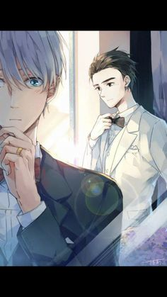 Read Victor X Yuri from the story YAOI PICS by (Love_in_a_word) with reads. Fan Art Anime, Anime Love, Anime Guys, Love On Ice, ユーリ!!! On Ice, Fanart Manga, Manga Anime, Yuri On Ice, Victor Y Yuri