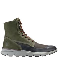 db1f39d8c Timberland Men s Eagle Bay Mixed-Media Boots Olive Green Nubuck Timberland  Mens