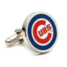 Chicago Cubs MLB Logo Cufflinks