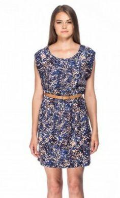 Rochie inflorata albastru-bej AMADA Summer Dresses, Formal Dresses, Two Piece Skirt Set, Skirts, Fashion, Dresses For Formal, Moda, Summer Sundresses, Skirt