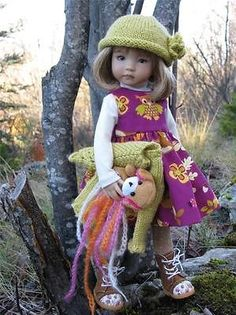 "Woodland Wonder by Tuula Fits 13"" Dianna Effner Little Darling to A ""T"" 