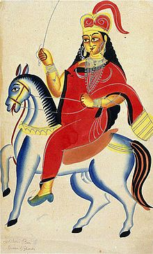 Rani Lakshmibai - Rani Lakshmibai - Queen of Jhansi, in North Central India, leading figure of Indian Rebellion of 1857, symbol of resistance against British East India Company-Wikipedia