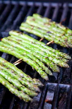 Check out what I found on the Paula Deen Network! Grilled Asparagus with Lemon & Garlic http://www.pauladeen.com/recipes/recipe_view/grilled_asparagus_with_lemon_garlic