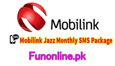 Mobilink Jazz Monthly Sms Package With 5gb Whatsapp Jazz Packaging