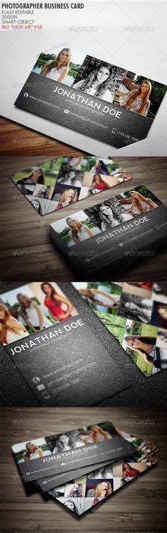 Photographer Business Card  http://graphicriver.net/item/photographer-business-card/3764335?WT.ac=portfolio_1=portfolio_author=Realstar