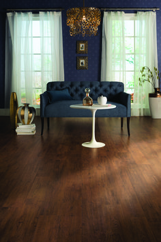 Get elegant and modern with blue and gold accents. Barrel Chestnut Planks by Quick Wood Laminate Flooring, Kitchen Flooring, Quickstep Laminate, Hickory Wood, Real Wood, Tool Design, Home Projects, Barrel, Modern