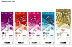 London 2012 ticket design