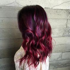 30 Stunning Ideas Of Black Hair With Highlights [August, Black Hair Pink Highlights, Red Copper Hair Color, Rose Hair Color, Colored Highlights, Hair Highlights, Highlights Underneath, Modern Boy Haircuts, Natural Hair Styles, Long Hair Styles