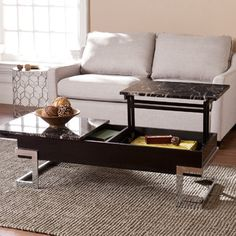 Wade Logan Boone Coffee Table with Lift Top