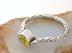 American Golden Opal Ring  Cuttlefish Cast by SCJJewelryDesign, $145.00