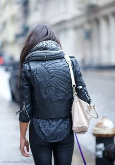 amazing leather jacket!