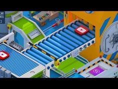 Isometric Factory Loop - Cinema4D - YouTube