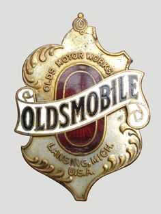 Oldsmobile Car Badge.