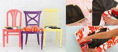 Yıllarca kullandığınız sandalyenin eskidiğini ve yenilenmesini düşünüyorsanız renkli sandalye ve minder yapımı yazımı sizlere hazırladım, okuyabilirsiniz.