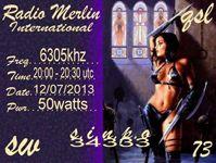 QSL Radio Merlin 2