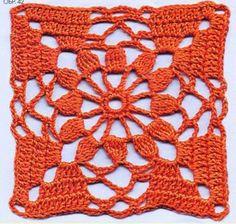 Colección de 10 patrones de grannys tejidos al crochet