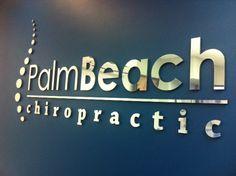The Palm Beach Chiropractic Logo