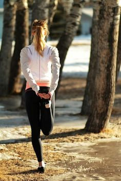 Morning stroll, easy quickstep pace, stretch…before you start.