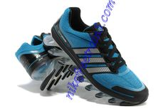 differently 33348 100b0 Shoes For Men Blue Sapphire Adidas New Springblade Metallic Silver Black