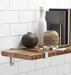 Shop Style Selections Steel 906In D X 654In L X 098In W Endearing Decorative Kitchen Shelves Design Ideas