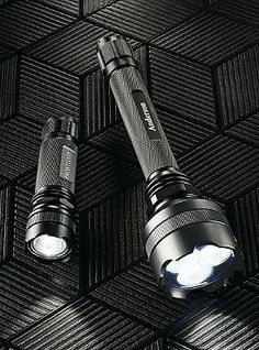 Illuminate any path with the Defender and Guardian Flashlight Gift Set that boast super bright LED bulbs and water-, weather-, and impact-resistant construction and is the perfect gift for anyone.