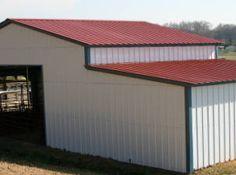 Blue Star Steel - addition for barn - Farmer's Utility Barn - low cost metal barn - steel barn - metal barn - Call for a quote Fox Farm, Steel Barns, Metal Barn, Farm Barn, Steel Buildings, Farmer, Quote, Star, Outdoor Decor