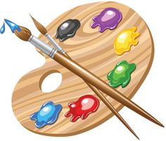 Find Wooden Art Palette Paints Brushes stock images in HD and millions of other royalty-free stock photos, illustrations and vectors in the Shutterstock collection. Pallet Painting, Tole Painting, Wooden Art, Art Party, Paint Brushes, Art School, Art Paintings, Art Images, Painted Rocks